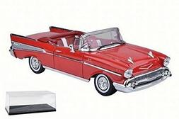 Diecast Car & Accessory Package - 1957 Chevy Bel Air Convert