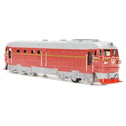 Diecast Metal Train Model Toy Classic Train Toy with Sound a