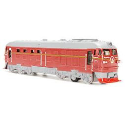 Diecast Metal Train Model Toy Classic Train Toy with Sound L