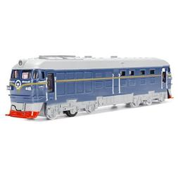 Diecast Metal Train Model Toy Train Toy Sound Light Vehicle