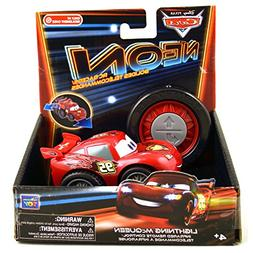 Disney Pixar Cars Neon Lightning McQueen Neon RC Racers