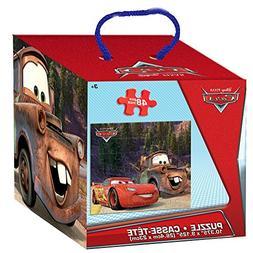 Disney Pixar Cars 48 Piece Puzzle in Cube Box