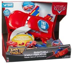 Disney Cars W7215 Lightning McQueen Hawk Interactive Flying