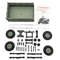 Gbell DIY Trailer Car Truck Vehicle Part Toy Set for WPL 1/1