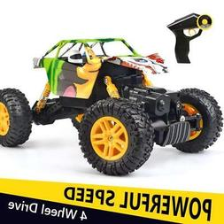 DOUBLE E RC Cars 1:18 Dual Motors Rechargeable Remote Contro