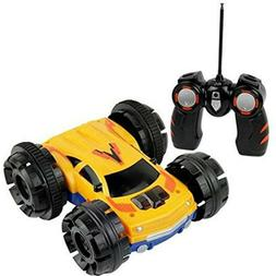 Click n' Play Double sided Tumbling Stunt Rolling RC Remote