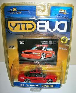 Jada Toys Dub City 1/64 Scale Die-cast 2003 Blue Hummer H2 #