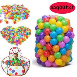 8cm Colorful Ball Soft Plastic Ocean Ball Funny Baby Kids Sw