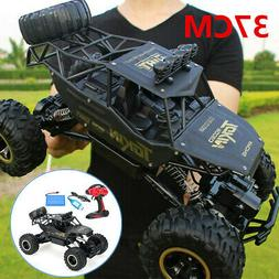 Electric RC Cars 4WD Monster Truck Off-Road Vehicle Remote C