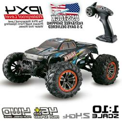 Electric RC Monster Truck Car 1:10 Scale 4WD 2.4Ghz Off-Road