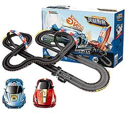 XSMP Electric RC Track Sets for Kids Gift Toy Railway Tracks
