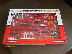 Emergency Fire Department Rescue 40 Piece Diecast Set w/ Boa