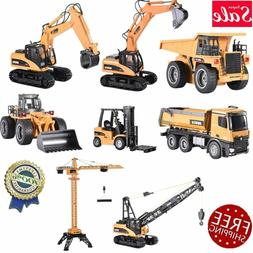 Huina Engineering Vehicle RC Car Dump Excavator Grab Wood Fo