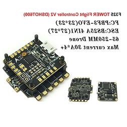 Crazepony 20x20mm F3 EVO Flight Controller AIO PDB BEC D-sho