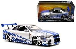 Fast & Furious - Brian's Nissan Skyline GT-R  1:24 Scale
