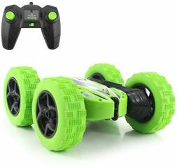 Fisca RC Car Remote Control Stunt Car, 4WD Monster Truck Dou