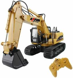 RC Excavator Tractor Toy Construction Vehicles For Kids Boys