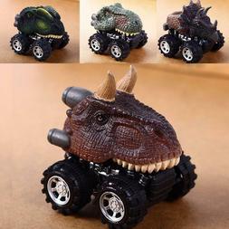 Foshin Mini Dinosaur Shape Car Model Toys Pull Back Vehicle