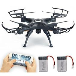 FPV Drone with Live Video Camera, Lamaston X5SW-1 2.4G RC Qu