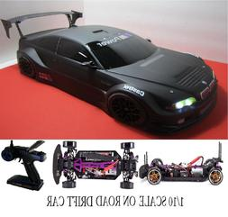 Fully Custom 1/10 Scale Remote Control On-road Drift Car RC
