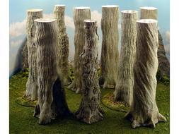 Giant Tree Trunks 69x78x198mm 40k Legion