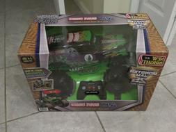 Grave digger rc remote control car 1:10 scale new in box mon