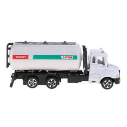 Green White Pull Back Garbage Truck RC Car Vehicles Model wi