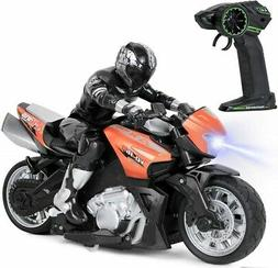 Click N' Play  High Speed RC Remote Control Motorcycle Ridin