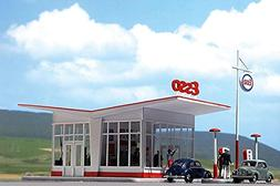 HO Scale Gas Station ESSO