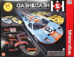 HO Slot Car Track - Auto World -