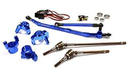 Integy Hobby RC Model C24449BLUE V2 4WS Conversion Kit for A