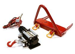 Integy Hobby RC Model C26159RED Realistic High Torque Winch