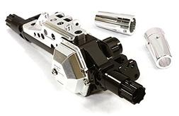 Integy Hobby RC Model C26674SILVER Billet Machined Rear Axle