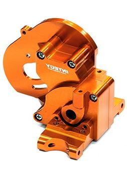Integy Hobby RC Model T7983ORANGE Alloy Gear Box for Traxxas