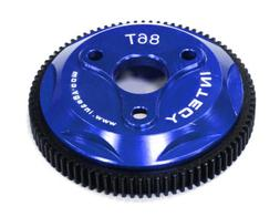 Integy Hobby RC Model T8030BLUE 86T Metal Spur Gear for Trax