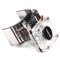 Integy Hobby RC Model T8074SILVER Motor Heatsink 540 Size w/