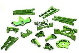 Integy RC Model Hop-ups T8595GREEN Billet Machined T2 Conver