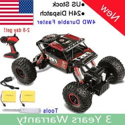 4WD RC Monster Truck Off-Road Vehicle Remote Control Buggy C