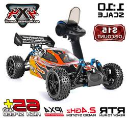 HSP 4WD RC Car 1:10 Two Speed Vehicle Nitro Power Off Road B