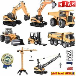 Huina Engineering Vehicle RC Car RTR Dump Excavator Grab Woo