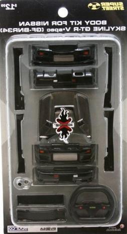 XMODS BODY KIT FOR BLACK NISSAN Skyline GT-R V-Spec