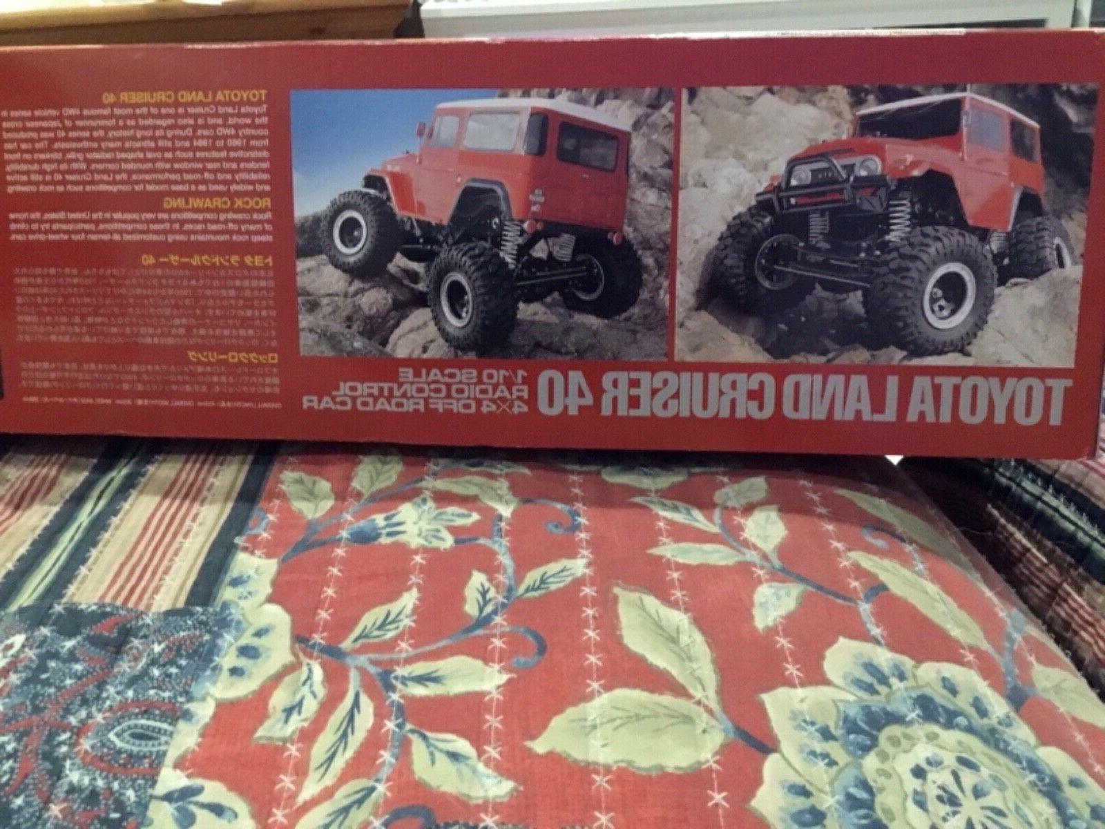 Tamiya 1:10 Land Cruiser 40 Rock Crawler EP RC Car Off Road #58405