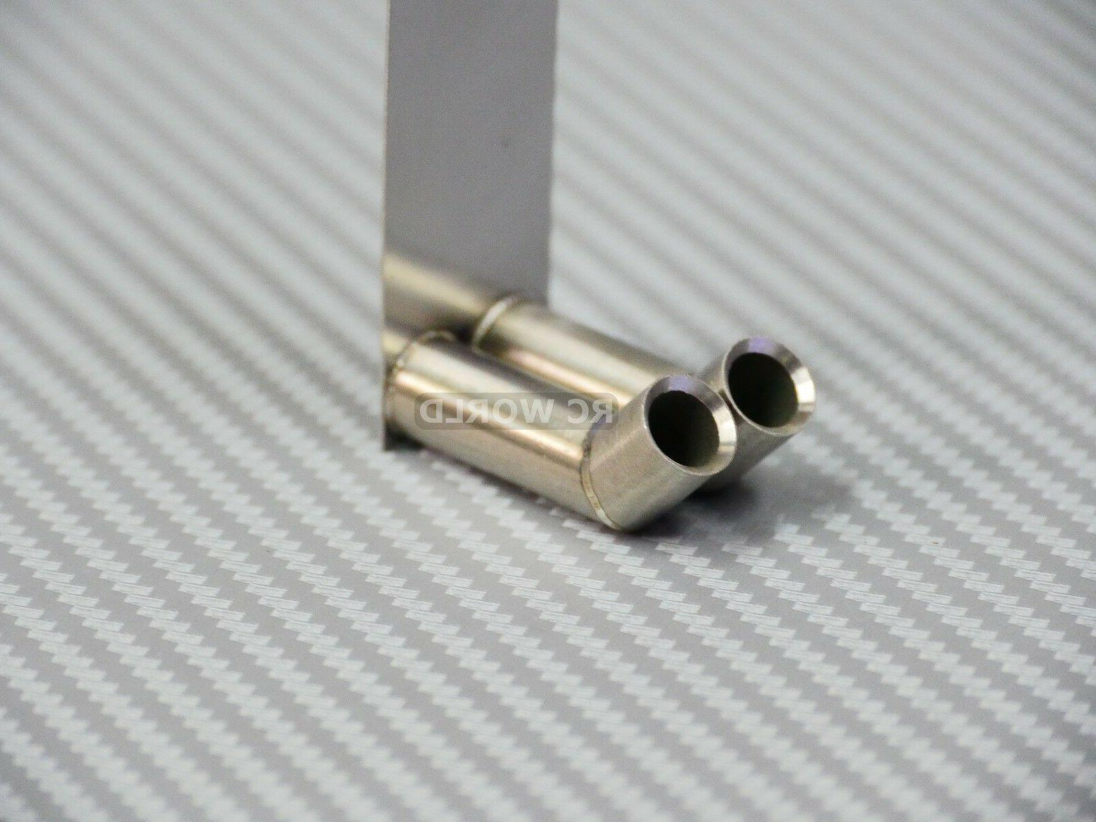 1/10 Twin Muffler Shells Accessories