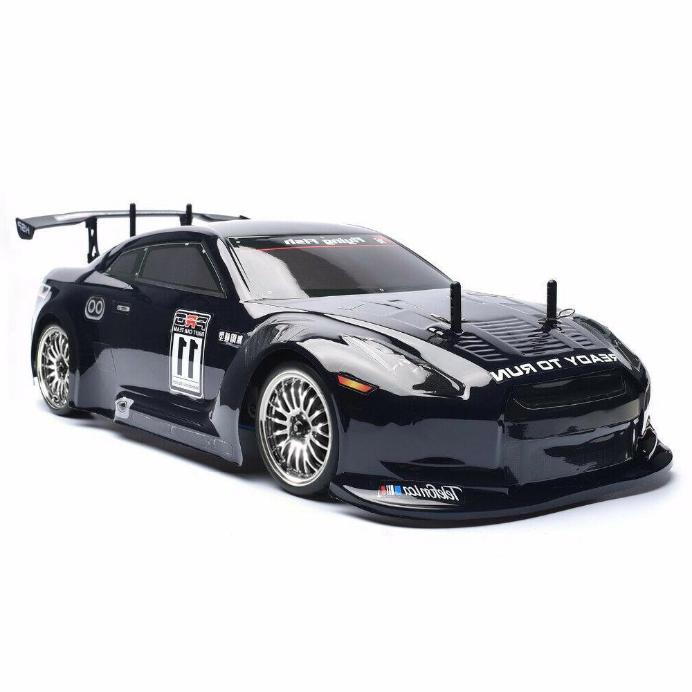 HSP 1/10 Scale Rc Drift Car 4wd Nitro Gas Powered Racing Car