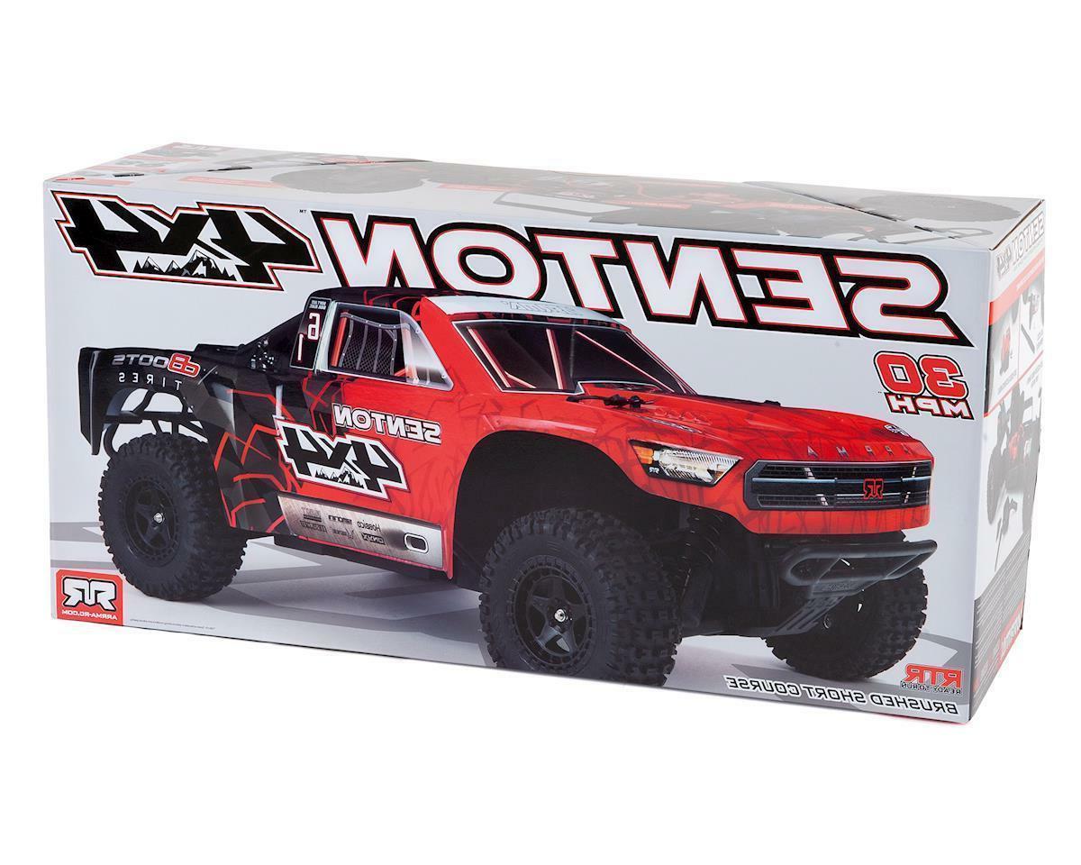 Arrma 1/10 Scale Senton 4x4 4WD MEGA Short Course RC Truck R
