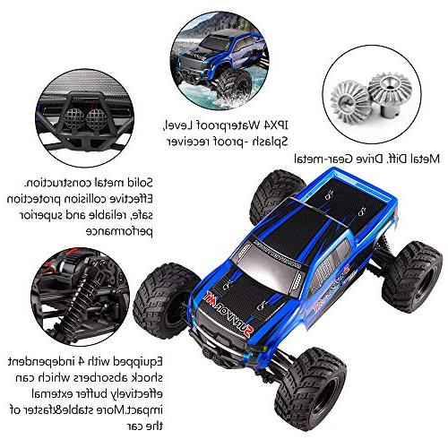 Distianert 1:12 RTR Rock Crawler RC Radio Control High Speed Buggy On-Road and Off-Road