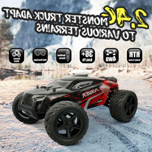1:14 4WD Truck Speed Road