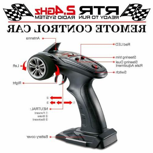 Car Brushless Control RC Monster Speed RTR