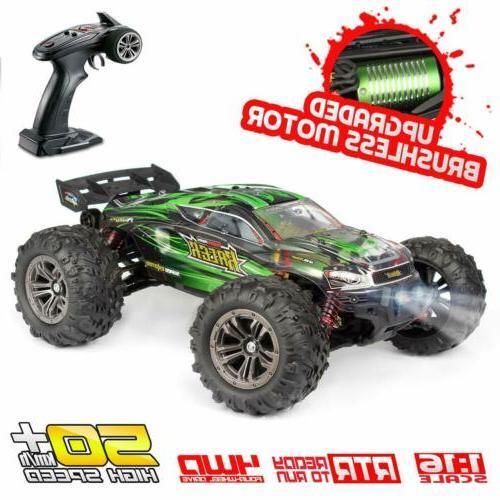 Hosim Car Brushless Remote Control RC Monster Speed