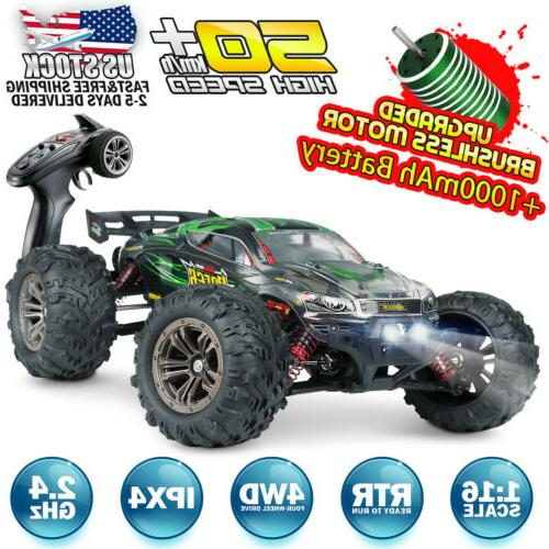 1 16 4wd rc car brushless remote